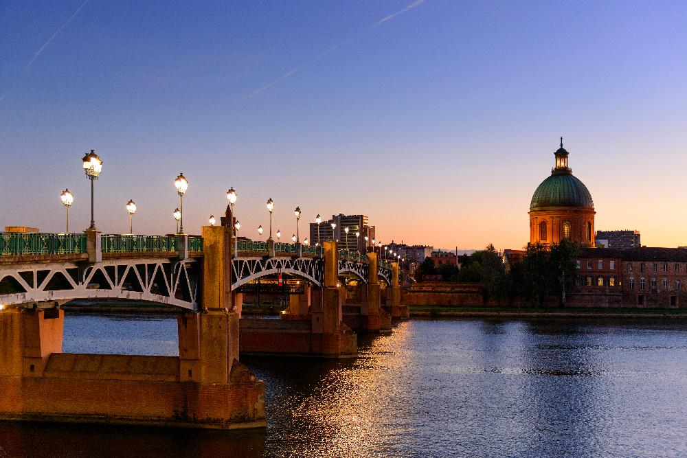 Toulouse, France by Night
